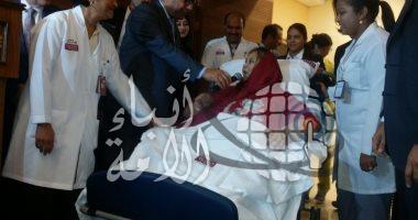 """أول صور لـ""""إيمان أحمد"""" أسمن سيدة فى العالم بعد استقرار حالتها الصحية"""