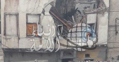 مصرع 4 أشخاص وإصابة 6 آخرين فى انهيار عقارين بالإسكندرية بسبب الطقس