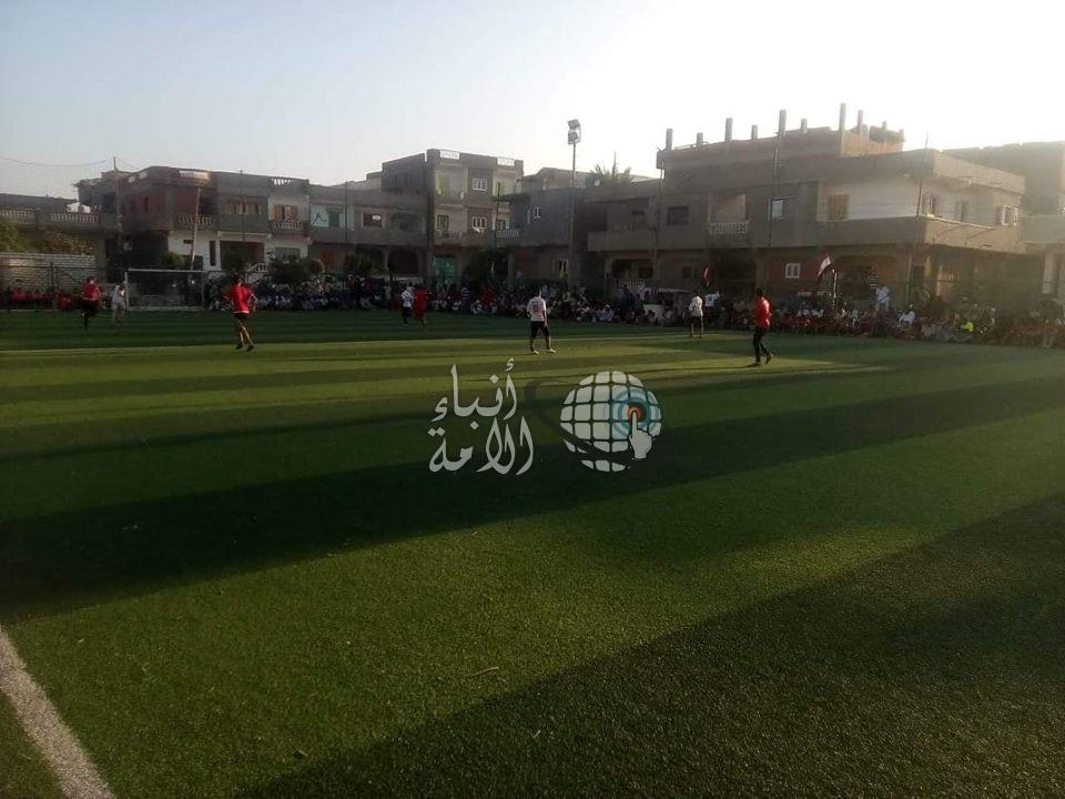 كوم الحاصل نجحت بإمتياز في استضافة المهرجان الرياضي 2018